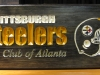 Steelers Fan Club Sign